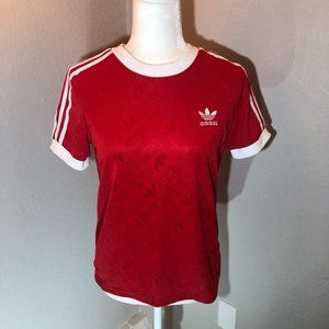 ⭐️ Adidas Red Dri-Fit Tee